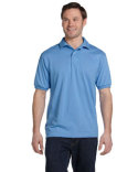 054 Hanes Adult 50/50 EcoSmart® Jersey Knit Polo
