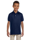 437Y Jerzees Youth SpotShield™ Jersey Polo