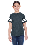 6137 LAT Youth Football Fine Jersey T-Shirt