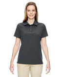 75120 North End Ladies' Excursion Crosscheck Woven Polo