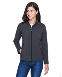 78184 Core 365 Ladies' Cruise Two-Layer Fleece Bonded Soft Shell Jacket