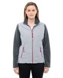 78809 North End Ladies' Quantum Interactive Hybrid Insulated Jacket