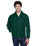 8485 UltraClub Men's Iceberg Fleece Full-Zip Jacket