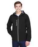 88166 North End Men's Prospect Two-Layer Fleece Bonded Soft Shell Hooded Jacket