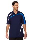 88645 North End Men's Impact Performance Polyester Piqué Colorblock Polo