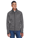 88697 North End Men's Flux Mélange Bonded Fleece Jacket