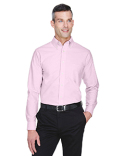 8970 UltraClub Men's Classic Wrinkle-Resistant Long-Sleeve Oxford