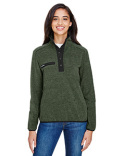 9340 Dri Duck Aspen Mélange Mountain Fleece Pullover