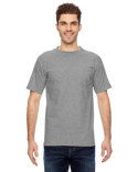 BA7100 Bayside Adult 6.1 oz., 100% Cotton Pocket T-Shirt