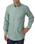 BP7004 Backpacker Men's Yarn-Dyed Chambray Woven
