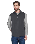 CE701 Core 365 Men's Cruise Two-Layer Fleece Bonded Soft Shell Vest