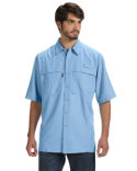DD4406 Dri Duck Men's 100% Polyester Short-Sleeve Fishing Shirt
