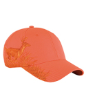DI3301 Dri Duck Running Buck Structured Mid-Profile Hat