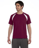 M1004 All Sport Unisex Colorblocked Short-Sleeve T-Shirt