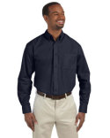 M510 Harriton Men's 3.1 oz. Essential Poplin