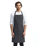 RP126 Artisan Collection by Reprime Unisex Jeans Stitch Denim Bib Apron